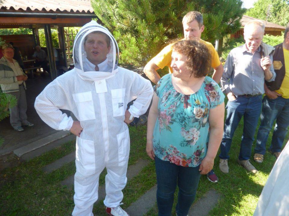Panevėžio bitininkai netoli Berčiūnų susibūrė į gražų renginį